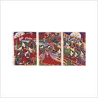 【浮世絵】楊洲周延「花の色調の一ふし」明治14年
