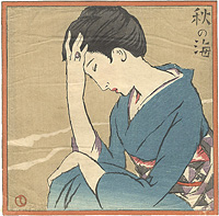 秋の海 / 竹久夢二