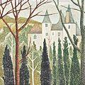 岡鹿之助「林間の城」