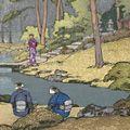 吉田遠志「お庭」