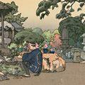 吉田遠志「石燈籠」