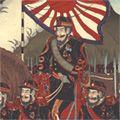 国輝三代「愛知県武豊湊 海陸大演習之図」