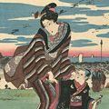 広重初代「東都 霞ヶ関の景」