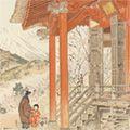 定方塊石「松田の観音堂と富士」