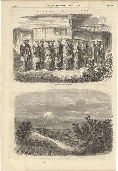 メイソン・ジャクソン「The Illustrated London News 1864年11月12日号より Scenes in Japan」/