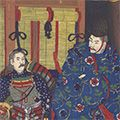 清親「日本外史之内 後醍醐天皇」