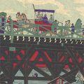 芳年「東京両国橋之図」
