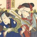 芳幾「浄瑠璃 隅田川浮世の鏡」