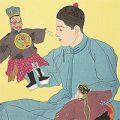 ポール・ジャクレー「中国の人形使い(支那の人形)」