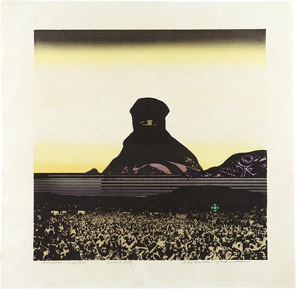 吉田穂高「Landscape - Ninja Point」/
