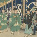 広重初代「富士三十六景 東都駿河町」