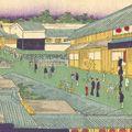 一景「東京名所 蠣売町水天宮」