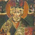作者不詳「ロシアイコン 聖ニコラウス」