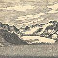 川上澄生「アラスカ風景」