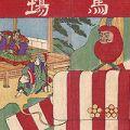 作者不詳「上野雷電社御祭典飾付図」