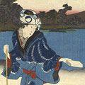 豊国三代「嶋もうで花の江戸旅」