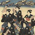 芳艶「神田鍋町御祭禮の図」
