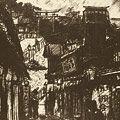 織田一磨「大阪風景 高津神社」