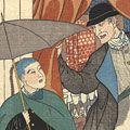 貞秀「横浜商家異人之図 イギリス人 ナンキン人」