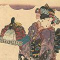 豊国三代「五節句の花尽」