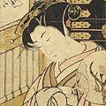 湖龍斎「美人画」