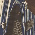 作者不詳「鯉の滝登り」
