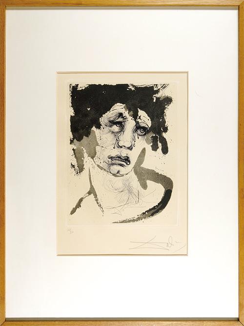 サルバドール・ダリ「シジモンの肖像」/