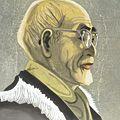 関野凖一郎「志賀直哉像」