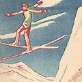 竹久夢二「中山晋平新民謡曲 V スキーぶし 雪よふれふれ」