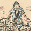 竹久夢二「セノオ楽譜 紡車」