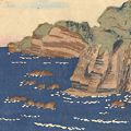 平塚運一「千葉の海」