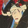 国貞三代「上野戦争中堂の場」