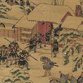 国貞初代「忠臣蔵焼香ノ図」