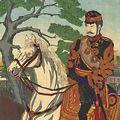 吟光(銀光)「日比谷観兵式之図」