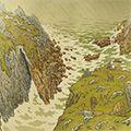 アンリ・リヴィエール「『自然の様相』より 断崖」
