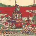 芳藤「東京神田神社祭礼之図」