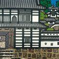 橋本興家「菱の門(姫路城)」