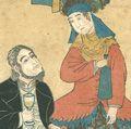 芳虎「外国人物図画 仏蘭西」