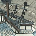 関野凖一郎「東海道五十三次 興津 」