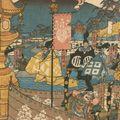 貞秀「鎌倉右幕下焼香場の図」