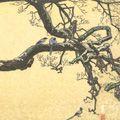 吉田遠志「珠数かけの梅」