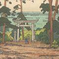 吉田遠志「秋葉神社」