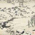 吉田遠志「雪国」