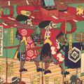芳虎「大津坂本城明渡之図(仮題)」
