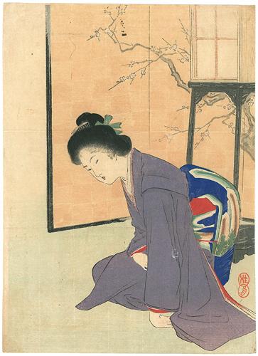 武内桂舟「木版口絵」/