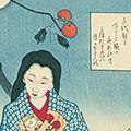 芳年「月百姿 加賀千代【復刻版】」