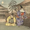 吟光(銀光)「大日本史略図会 六十九・七十」