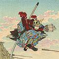 吟光(銀光)「大日本史略図会 五十七・五十八」