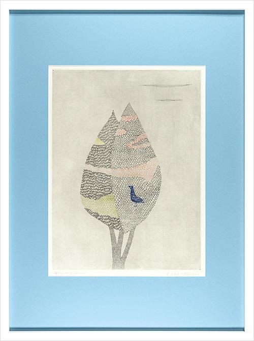 南桂子「花のある木」/