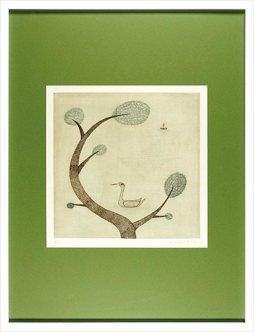 南桂子「木と鳥と舟」/